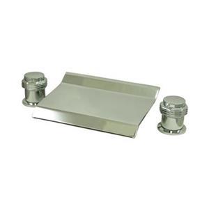Elements of Design Chrome Two Handle Roman Tub Faucet