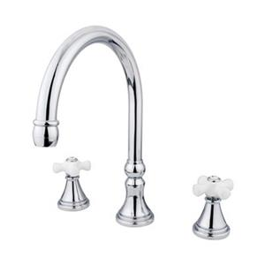 Elements of Design Polished Chrome Two Handle Roman Tub Filler