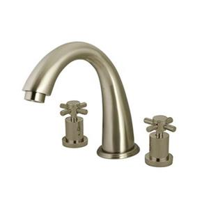 Elements of Design Satin Nickel NuVo Roman Tub Filler