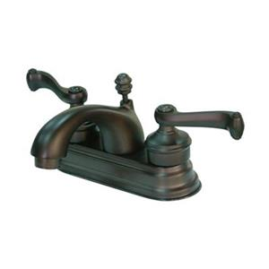 Elements of Design Bronze Deck Centerset Faucet