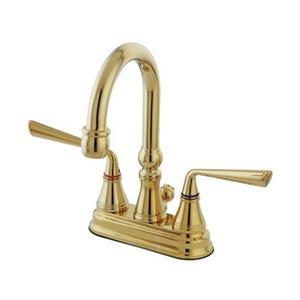 Elements of Design Silver Sage Brass Centerset Faucet