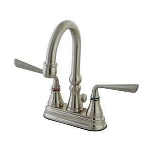Elements of Design Silver Sage Nickel Centerset Faucet