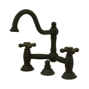 Elements of Design Chicago Bronze Widespread Faucet