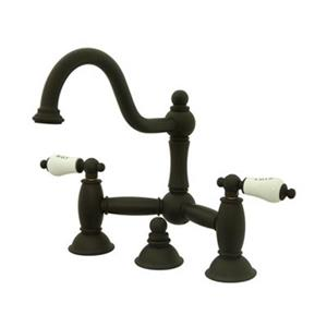 Elements of Design Chicago Bronze Widespread Faucet