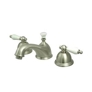 Elements of Design Chicago Nickel Widespread Faucet