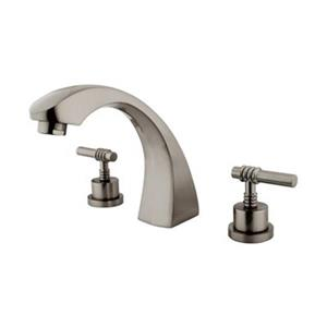 Elements of Design Concord 7.5-in Satin Nickel Roman Tub Filler