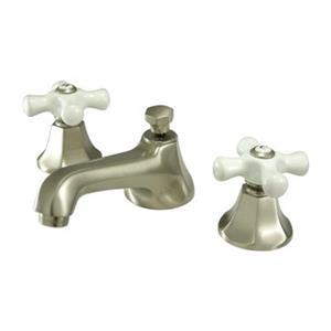 Elements of Design New York Satin Nickel Widespread Faucet