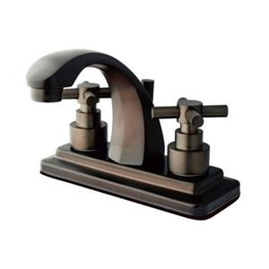 Elements of Design Tampa Oil Rubbed Bronze Centerset Faucet