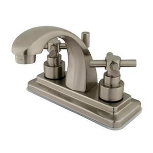 Elements of Design Tampa Satin Nickel Centerset Faucet