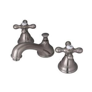 Elements of Design Royale Satin Nickel Widespread Faucet