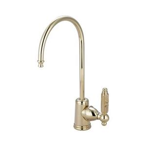 Elements of Design Brass Georgian Water Filtration Kitchen Faucet