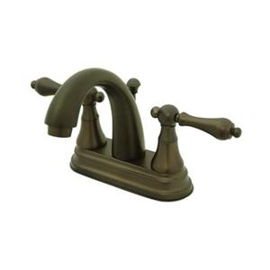 Elements of Design Elizabeth Oil Rubbed Bronze Centerset Faucet