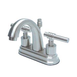 Elements of Design Chrome Deck Centerset Faucet