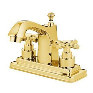 Elements of Design Tampa Brass Centerset Faucet