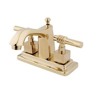 Elements of Design Milano Brass Centerset Faucet