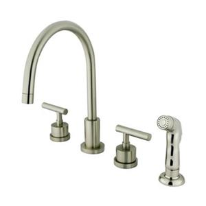 Manhattan Widespread Two Handle Kitchen Faucet
