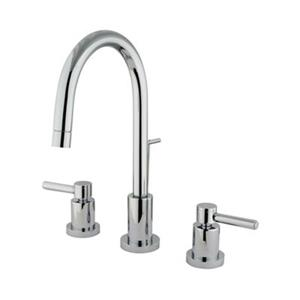 Elements of Design Chrome Two Handle Mini Widespread Faucet