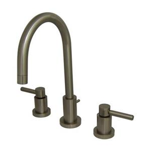 Elements of Design Nickel Two Handle Mini Widespread Faucet