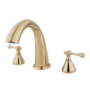 Elements of Design English Country 8.4-in Polished Brass Roman Tub Filler