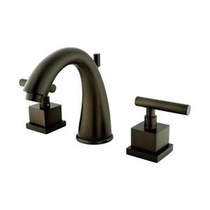 Elements of Design Claremont Oil Rubbed Bronze Widespread Faucet