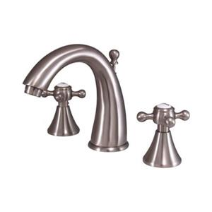 Elements of Design English Country Satin Nickel Widespread Faucet