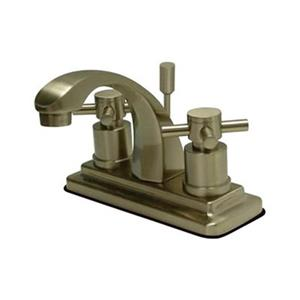 Elements of Design Nickel Concord Centerset Faucet