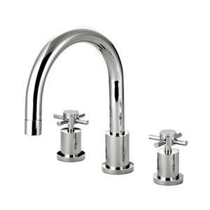 Elements of Design Concord 11-in Chrome Roman Tub Filler