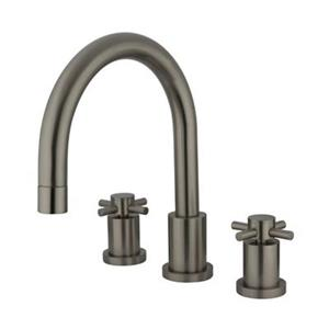 Elements of Design Concord 11-in Satin Nickel Roman Tub Filler