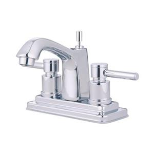 Elements of Design Chrome Concord 2-Handle Centerset Faucet