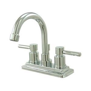 Elements of Design Chrome Concord 2-Handle Centerset Faucet
