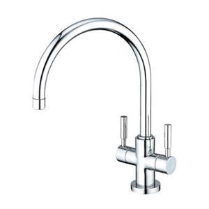 Elements of Design Concord Twin Lever Handles Kitchen Faucet