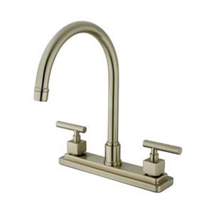 Claremont Two Handle Kitchen Faucet with Sprayer