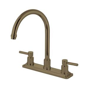 Concord Two Handle Kitchen Faucet with Sprayer