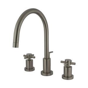 Elements of Design Nickel Concord 2-Handle Widespread Faucet