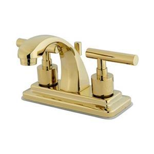 Elements of Design Brass Manhattan Centerset Faucet