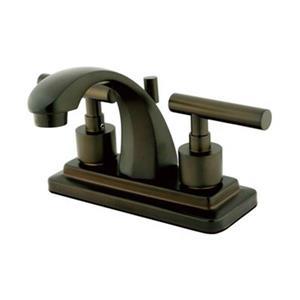 Elements of Design Bronze Manhattan Centerset Faucet