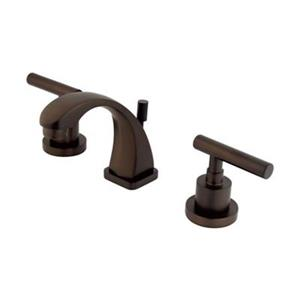 Elements of Design Bronze Manhattan Mini Widespread Faucet