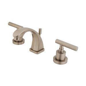 Elements of Design Nickel Manhattan Mini Widespread Faucet