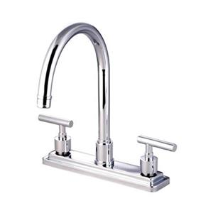 Elements of Design Manhattan 12.50-in Chrome Two Handle Kitchen Faucet