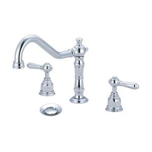 Pioneer Industries Americana Polished Chrome Two Handle Widespread Faucet
