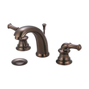 Pioneer Industries Del Mar Oil Rubbed Bronze Two Handle Widespread Faucet
