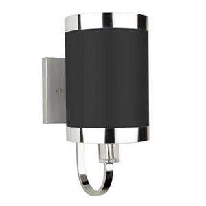 Steven & Chris by Artcraft Madison 1-Light Wall Sconce - Black