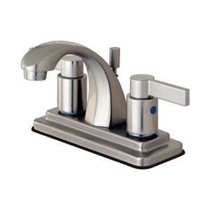 NuvoFusion Euro high Rise Spout Lavatory Faucet With ABS/Brass Pop-Up