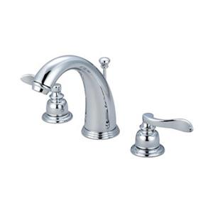 Elements of Design NuWave Oil Rubbed Bronze French Widespread Faucet
