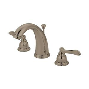 Elements of Design NuWave Satin Nickel French Widespread Faucet