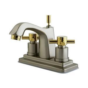 Elements of Design Concord Satin Nickel Centerset Faucet