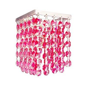 Classic Lighting Bedazzle 1-Light Crystal Wall Sconce