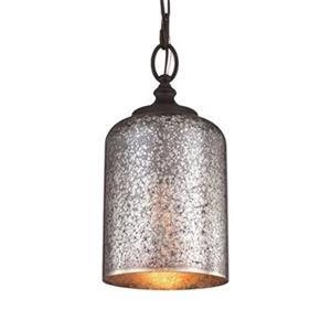 Feiss Hounslow Oil Rubbed Bronze 1-Light Pendant Light
