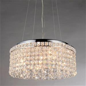 Warehouse of Tiffany  Vittoria Crystal Large Pendant Light