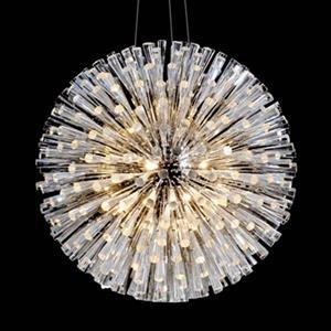 Design Living GA Series Chrome 30 Light  Crystal Large Pendant Light